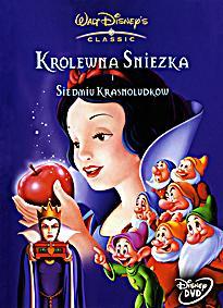 Wydanie Królewny Śnieżki na DVD (2001) z polskim dubbingiem z 1938 roku